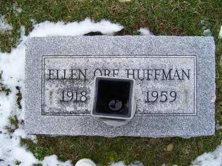 HUFFMAN, ELLEN ORE - Adams County, Ohio | ELLEN ORE HUFFMAN - Ohio Gravestone Photos