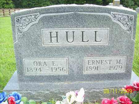 HULL, ERNEST M - Adams County, Ohio   ERNEST M HULL - Ohio Gravestone Photos
