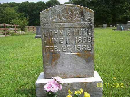 HULL, JOHN FRANKLIN - Adams County, Ohio   JOHN FRANKLIN HULL - Ohio Gravestone Photos