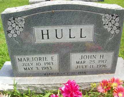 HULL, JOHN H - Adams County, Ohio   JOHN H HULL - Ohio Gravestone Photos