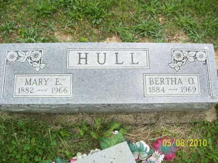 HULL, BERTHA O - Adams County, Ohio | BERTHA O HULL - Ohio Gravestone Photos