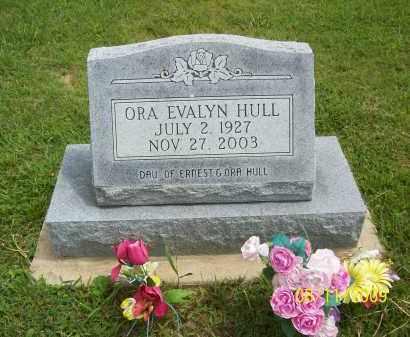 HULL, ORA EVALYN - Adams County, Ohio | ORA EVALYN HULL - Ohio Gravestone Photos