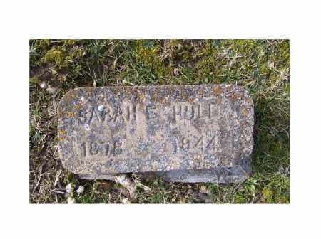 HULL, SARAH E. - Adams County, Ohio | SARAH E. HULL - Ohio Gravestone Photos