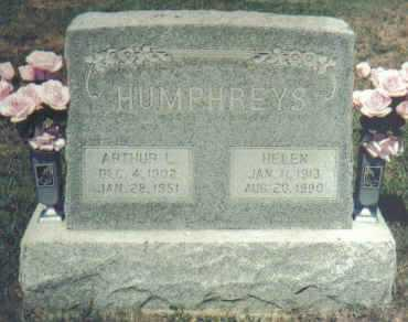 HUMPHREYS, HELEN - Adams County, Ohio | HELEN HUMPHREYS - Ohio Gravestone Photos