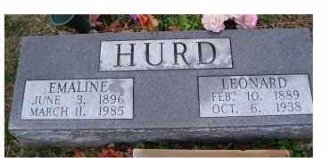 HURD, EMAILINE - Adams County, Ohio | EMAILINE HURD - Ohio Gravestone Photos