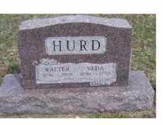 HURD, WALTER - Adams County, Ohio | WALTER HURD - Ohio Gravestone Photos