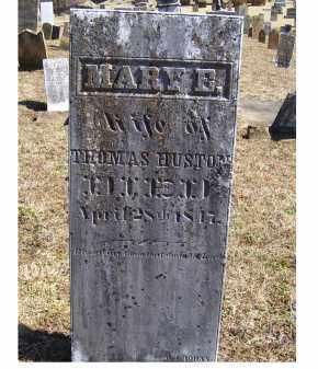 HUSTON, MARY E. - Adams County, Ohio | MARY E. HUSTON - Ohio Gravestone Photos