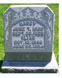 INLOW, ELIAS - Adams County, Ohio | ELIAS INLOW - Ohio Gravestone Photos