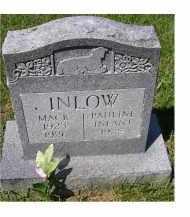 INLOW, MACK - Adams County, Ohio | MACK INLOW - Ohio Gravestone Photos
