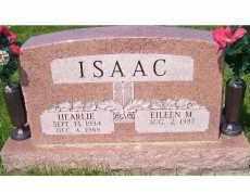 ISAAC, HEARLIE - Adams County, Ohio | HEARLIE ISAAC - Ohio Gravestone Photos