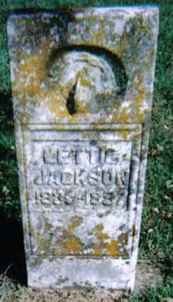JACKSON, LETTIE - Adams County, Ohio | LETTIE JACKSON - Ohio Gravestone Photos