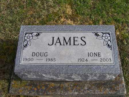 JAMES, IONE - Adams County, Ohio   IONE JAMES - Ohio Gravestone Photos