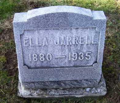 JARRELL, ELLA - Adams County, Ohio   ELLA JARRELL - Ohio Gravestone Photos