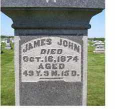 JOHN, JAMES - Adams County, Ohio | JAMES JOHN - Ohio Gravestone Photos