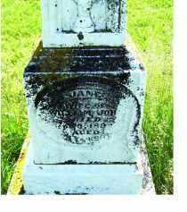 JOHN, JANE - Adams County, Ohio   JANE JOHN - Ohio Gravestone Photos