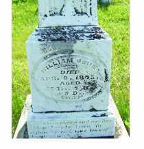 JOHN, WILLIAM - Adams County, Ohio | WILLIAM JOHN - Ohio Gravestone Photos