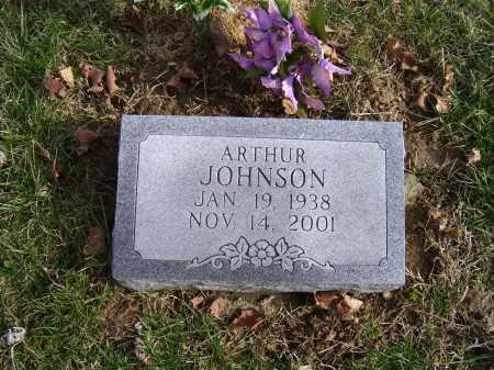 JOHNSON, ARTHUR - Adams County, Ohio   ARTHUR JOHNSON - Ohio Gravestone Photos