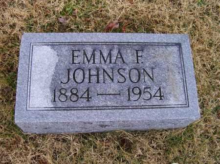 JOHNSON, EMMA F. - Adams County, Ohio | EMMA F. JOHNSON - Ohio Gravestone Photos