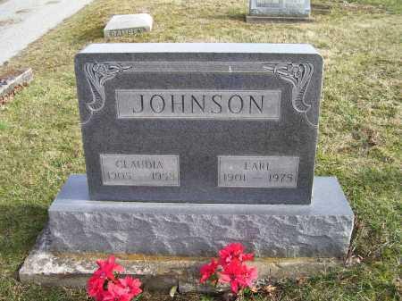JOHNSON, EARL - Adams County, Ohio | EARL JOHNSON - Ohio Gravestone Photos