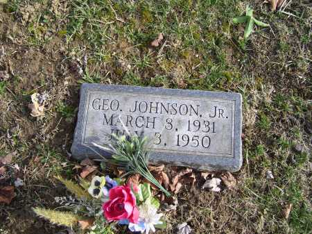 JOHNSON, GEORGE JR. - Adams County, Ohio | GEORGE JR. JOHNSON - Ohio Gravestone Photos