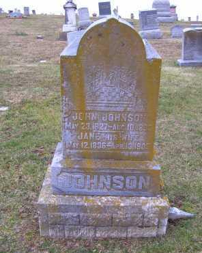 COPELAND JOHNSON, JANE - Adams County, Ohio | JANE COPELAND JOHNSON - Ohio Gravestone Photos