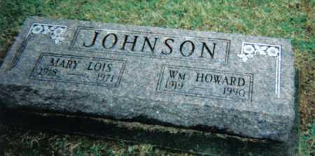 JOHNSON, WM. HOWARD - Adams County, Ohio | WM. HOWARD JOHNSON - Ohio Gravestone Photos