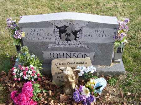 JOHNSON, ETHEL - Adams County, Ohio | ETHEL JOHNSON - Ohio Gravestone Photos