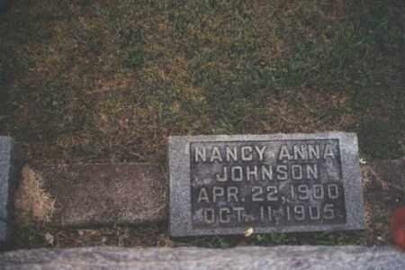 JOHNSON, NANCY ANN - Adams County, Ohio | NANCY ANN JOHNSON - Ohio Gravestone Photos