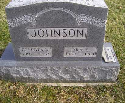JOHNSON, CELESTA V. - Adams County, Ohio | CELESTA V. JOHNSON - Ohio Gravestone Photos