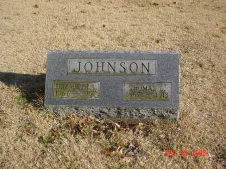 JOHNSON, ELIZABETH L. - Adams County, Ohio | ELIZABETH L. JOHNSON - Ohio Gravestone Photos