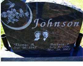 JOHNSON, THOMAS A. - Adams County, Ohio | THOMAS A. JOHNSON - Ohio Gravestone Photos