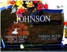 JOHNSON, THOMAS ALLEN - Adams County, Ohio   THOMAS ALLEN JOHNSON - Ohio Gravestone Photos
