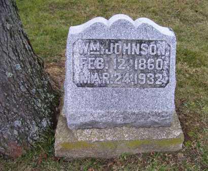 JOHNSON, WM. - Adams County, Ohio | WM. JOHNSON - Ohio Gravestone Photos