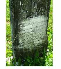 JOHNSTON, WILLIAM - Adams County, Ohio | WILLIAM JOHNSTON - Ohio Gravestone Photos