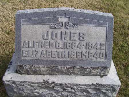 JONES, ELIZABETH - Adams County, Ohio | ELIZABETH JONES - Ohio Gravestone Photos
