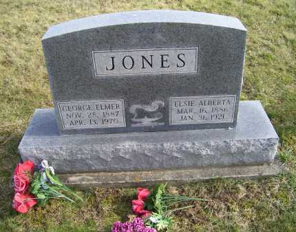JONES, GEORGE ELMER - Adams County, Ohio   GEORGE ELMER JONES - Ohio Gravestone Photos