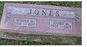 JONES, HARRY M. - Adams County, Ohio | HARRY M. JONES - Ohio Gravestone Photos