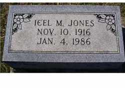 JONES, ICEL M. - Adams County, Ohio | ICEL M. JONES - Ohio Gravestone Photos