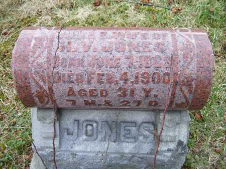 JONES, JULIA - Adams County, Ohio   JULIA JONES - Ohio Gravestone Photos