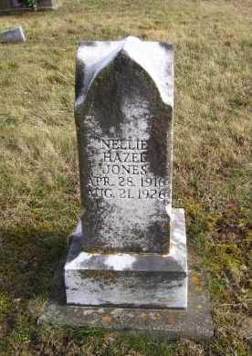 JONES, NELLIE HAZEL - Adams County, Ohio | NELLIE HAZEL JONES - Ohio Gravestone Photos