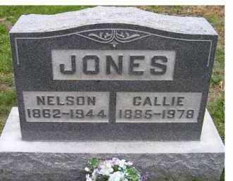 JONES, CALLIE - Adams County, Ohio | CALLIE JONES - Ohio Gravestone Photos
