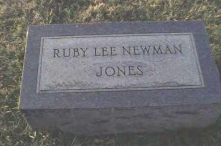 NEWMAN JONES, RUBY LEE - Adams County, Ohio | RUBY LEE NEWMAN JONES - Ohio Gravestone Photos