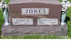 JONES, DOROTHY E. - Adams County, Ohio | DOROTHY E. JONES - Ohio Gravestone Photos