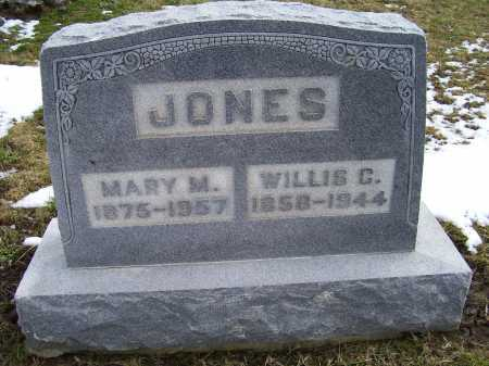 JONES, WILLIS C. - Adams County, Ohio | WILLIS C. JONES - Ohio Gravestone Photos