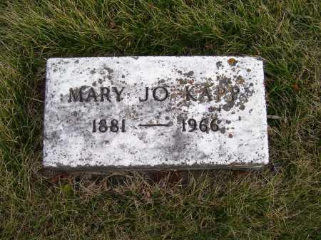 KAPP, MARY JO - Adams County, Ohio | MARY JO KAPP - Ohio Gravestone Photos