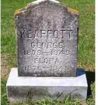 KEAPFOTT, FLORA - Adams County, Ohio | FLORA KEAPFOTT - Ohio Gravestone Photos