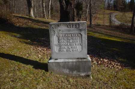 KEES, WILLIAM - Adams County, Ohio | WILLIAM KEES - Ohio Gravestone Photos