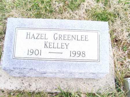 GREENLEE KELLEY, HAZEL - Adams County, Ohio   HAZEL GREENLEE KELLEY - Ohio Gravestone Photos