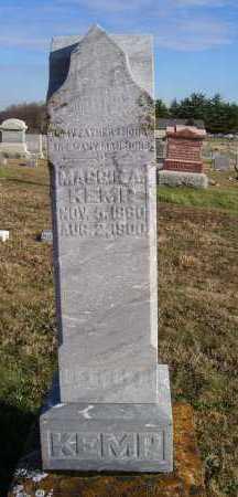 KEMP, MAGGIE A. - Adams County, Ohio   MAGGIE A. KEMP - Ohio Gravestone Photos