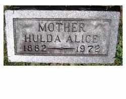 KEPLINGER, HULDA ALICE - Adams County, Ohio | HULDA ALICE KEPLINGER - Ohio Gravestone Photos